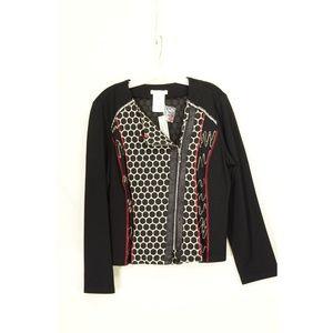 ZOE Jackets & Coats - Zoe Michael Phillips jacket NWT moto style L